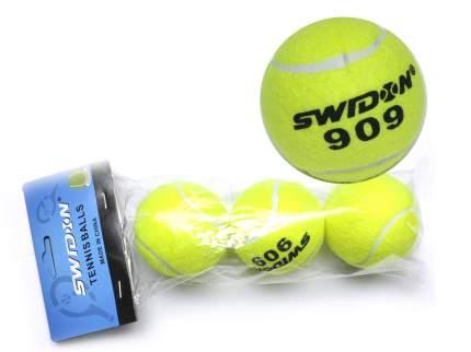 Теннисный мяч Sprinter 00210 3 шт. зеленый