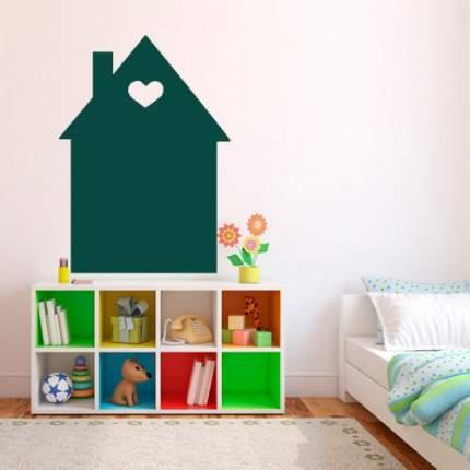 Меловая доска iq-board домик 62х98