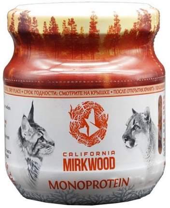 Влажный корм для кошек California Mirkwood, при пищевой аллергии, кролик, 100г