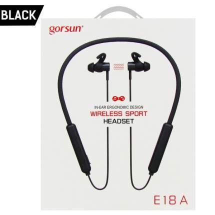 Наушники беспроводные Gorsun E18A Black