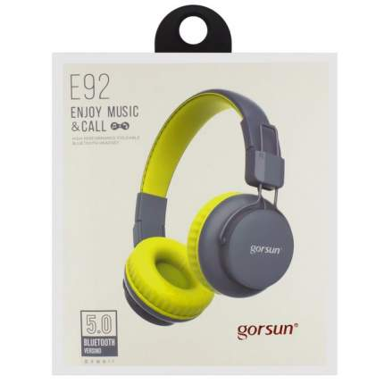Беспроводные наушники Gorsun E92 Yellow