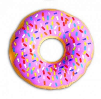 Круглая подушка-антистресс Штучки, к которым тянутся ручки Пасхальный пончик 4