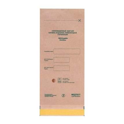 Крафт пакеты для стерилизации; МедТест;75х150 мм; 100 шт.