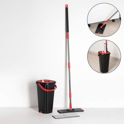 Набор для уборки: с отсеками для полоскания и отжима 9,5 л