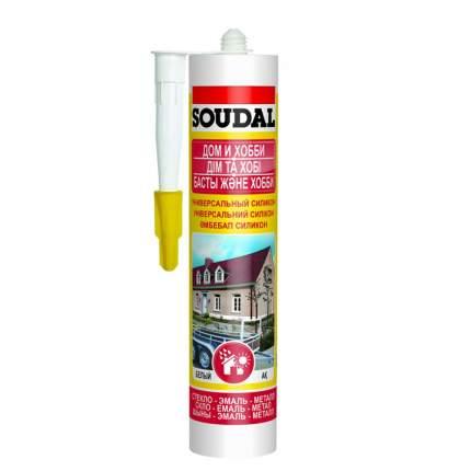 Универсальный силикон SOUDAL белый 280 мл. артикул 105907