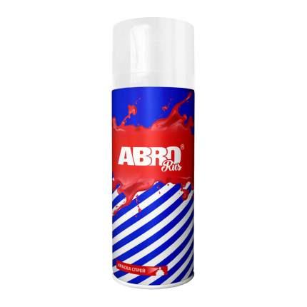 Краска-спрей ABRO № 1007 SPO-1007-R белая матовая 0,473 л