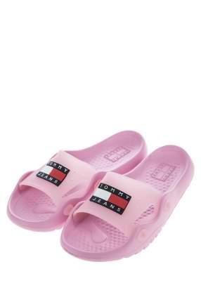 Шлепанцы женские Tommy Jeans EN0EN00854 розовые 40 US