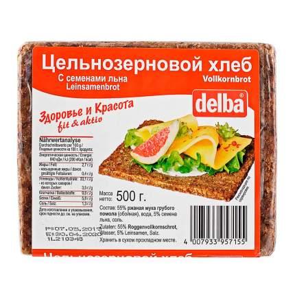 Фитнес-хлеб Delba с семенами льна, 500 гр.