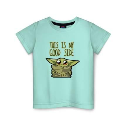 Детская футболка ВсеМайки Child Yoda, размер 104