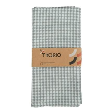 Набор вафельных кухонных полотенец серого из умягченного хлопка Essential, 50х70