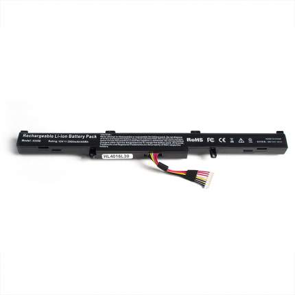 Аккумулятор OEM для ноутбука Asus A41-X550E, X450J, X450JF, F750J, F750JB, R750J, R750JB