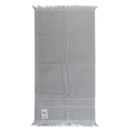 Полотенце для рук декоративное с бахромой серого цвета Essential, 50х90 см