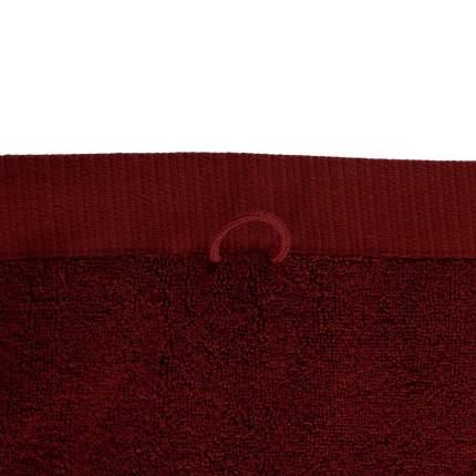 Полотенце для рук бордового цвета, Tkano