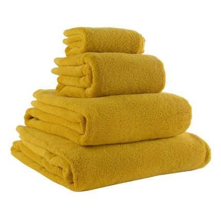 Полотенце для лица горчичного цвета Essential, 30х50 см