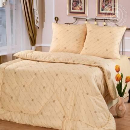 Одеяло 53 (шерсть овечья чесаная утолщенное/бязь) полутораспальный
