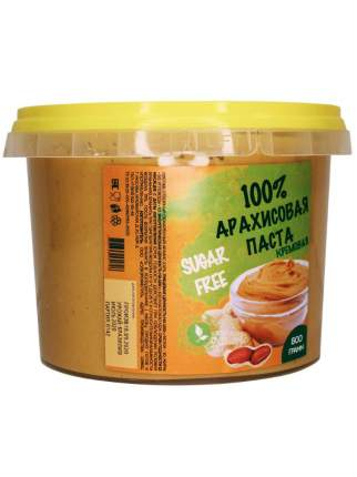 EXOTIC FOOD БЕЗ САХАРА 100% натуральная Арахисовая паста, Классическая, 1000 гр