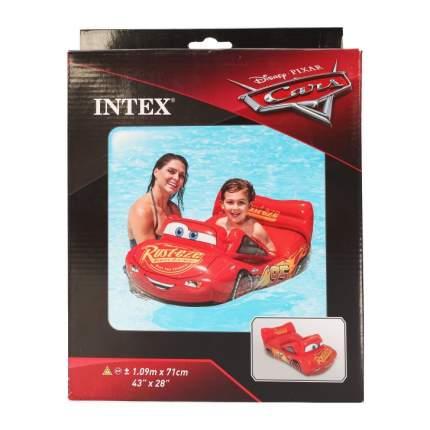 Надувной плот Intex Disney Тачки, 109х71 см