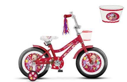 Велосипед детский двухколесный 1 TOY Маша и Медведь 16, ВН16166