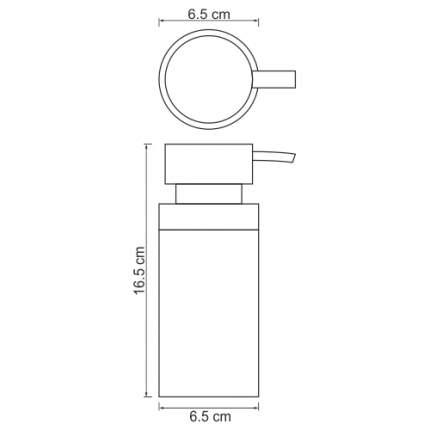 Дозатор для мыла WasserKRAFT Berkel K-4999