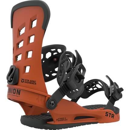 Крепление для сноуборда Union Str 2021, оранжевое, M