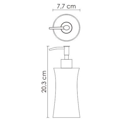Дозатор для мыла WasserKRAFT Salm K-7699