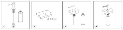 Дозатор для мыла WasserKRAFT K-1099
