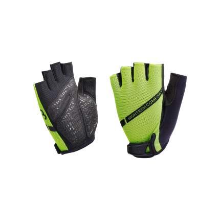 Велосипедные перчатки BBB Gloves Highcomfort Memory Foam, neon yellow, L