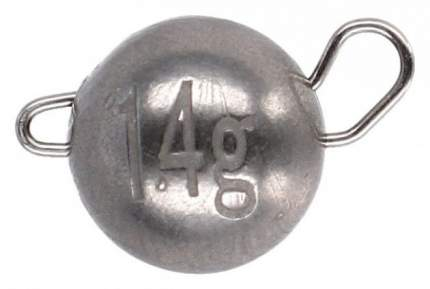 Чебурашка вольфрамовая разборная Mikado 4 г.  уп.=3 шт.
