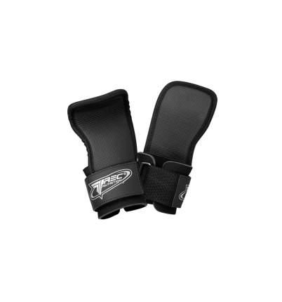 Trec Wear Ремни для тяги Training Barbells Grip #21, 2 шт, цвет: черный
