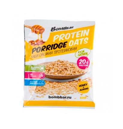 BOMBBAR Protein Porridge Oats 60 г, 1 шт, вкус: мёд