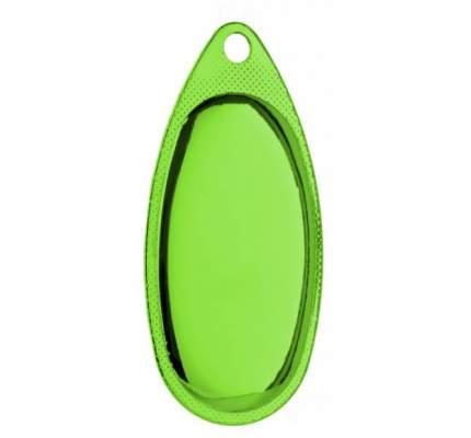 Блесна вращающаяся Mikado FOCUS № 3 зелёная флюо