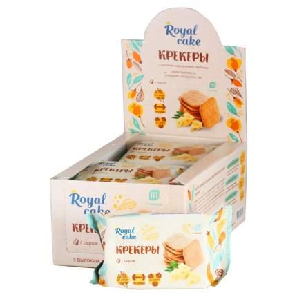 ProteinRex Протеиновые крекеры ProteinRex 84 г, 1 шт, вкус: с сыром