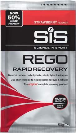 Изотоник SiS Rego Rapid Recovery, 50 г, strawberry