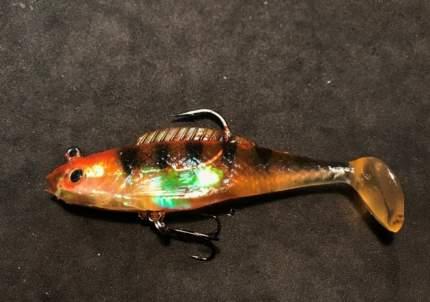 Виброхвост оснащенный Crystal Fish WX5556-8 см./ 016 (1уп.-2шт.)