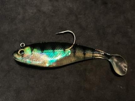 Виброхвост Mikado Crystal Fish WX5551 WX5551-10 CM-053 30 г, 2 шт.