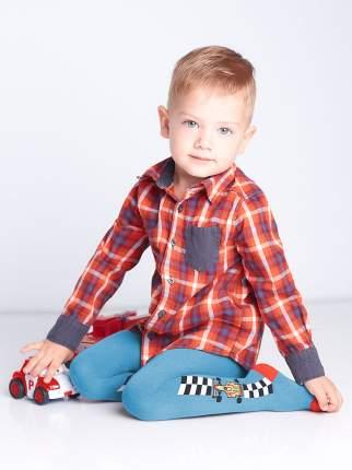 Колготки для малышей D019 LITTLE KIDS BOY, blue gul, 92-98