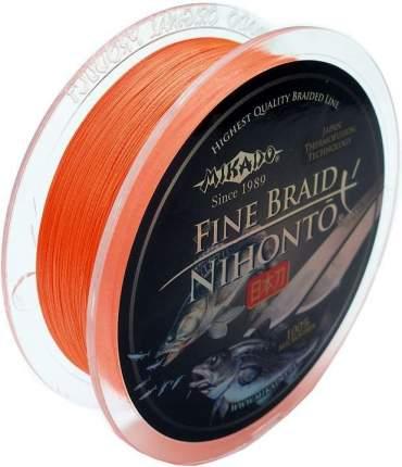 Шнур плетеный Mikado Nihonto Fine 0,14 мм, 150 м, 9,7 кг