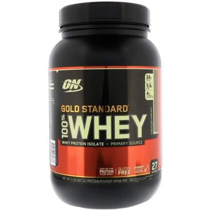 Протеин Optimum Nutrition 100% Whey Gold Standard Natural, 907 г, chocolate