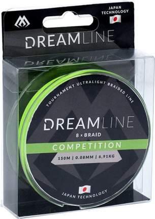 Шнур плетеный Mikado Dreamline Competition 0,12 мм, 150 м, 10,21 кг