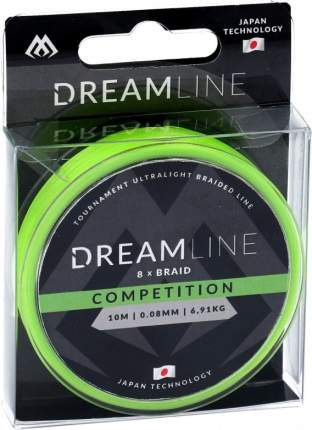Шнур плетеный Mikado Dreamline Competition 0,2 мм, 10 м, 20,83 кг