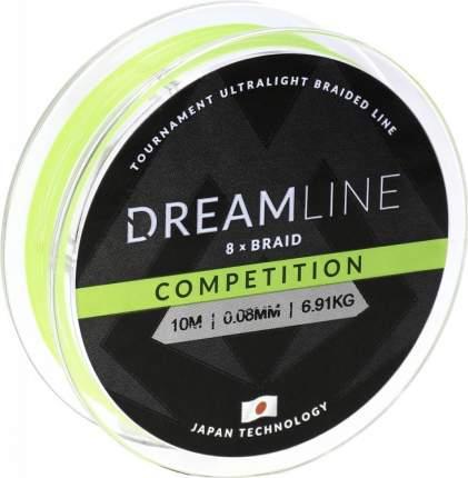 Шнур плетеный Mikado Dreamline Competition 0,12 мм, 10 м, 10,21 кг