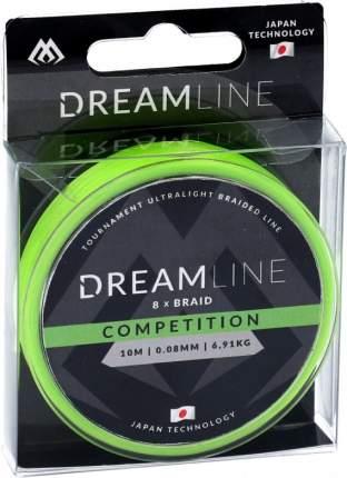 Шнур плетеный Mikado Dreamline Competition 0,1 мм, 10 м, 8,73 кг
