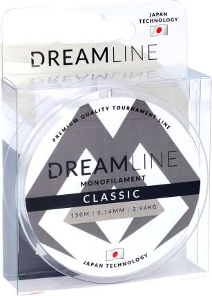 Леска флюрокарбоновая Mikado Dreamline Classic 0,14 мм, 150 м, 2,94 кг