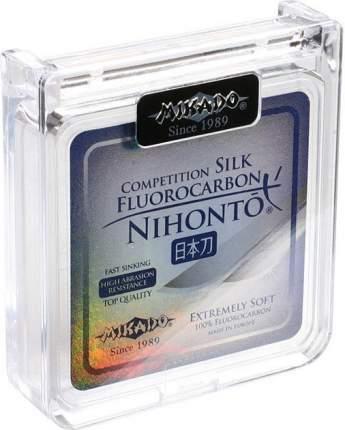 Леска флюрокарбоновая Mikado Nihonto Fluorocarbon Silk 0,2 мм, 30 м, 2,7 кг