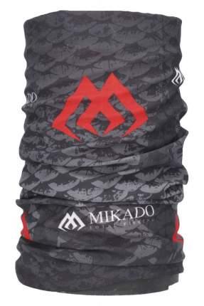 Шарф-труба Mikado Komin Chimney Classic, серый, One Size