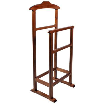 Вешалка напольная для одежды двойная Мебель 24 ольха, 45х33х99 см.