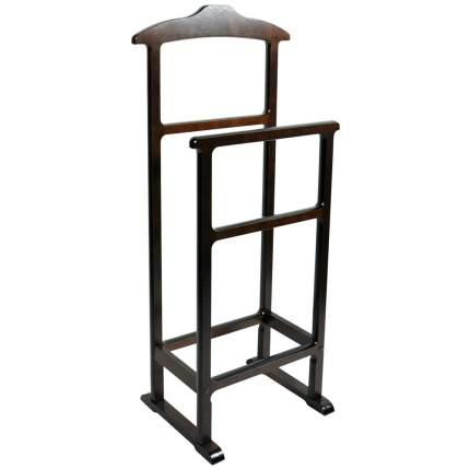 Вешалка напольная для одежды двойная Мебель 24 венге, 45х33х99 см.
