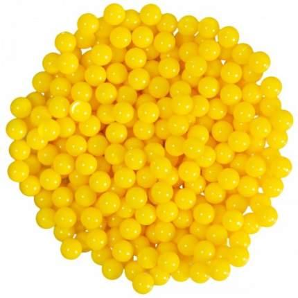 Дробь ( шары пластиковые) Action Air для страйкбольных пистолетов 6 мм 400 шт (желтые)