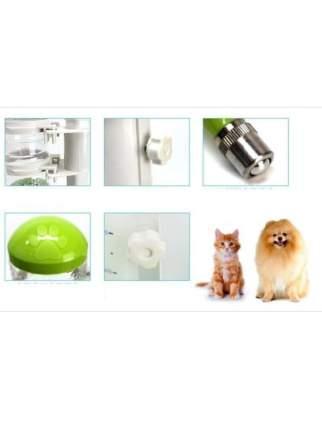 Кормушка-автопоилка для кошки, собаки Petsy, голубой, 0.5 л