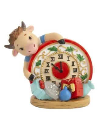 Символ года Феникс Present 81392 Бычок с часами